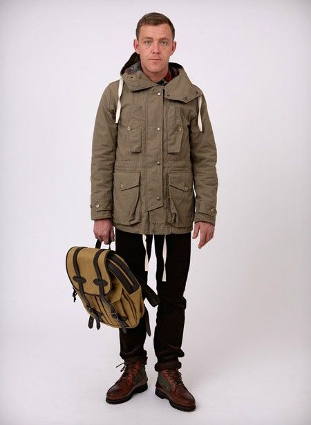 Engineered Garments Work Shirt; Oliver Spencer Cords; Timberland Gore-Tex Boot