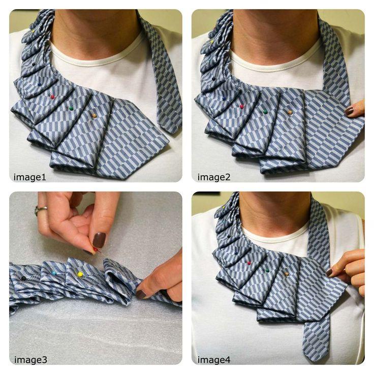 A new twist on the old necktie