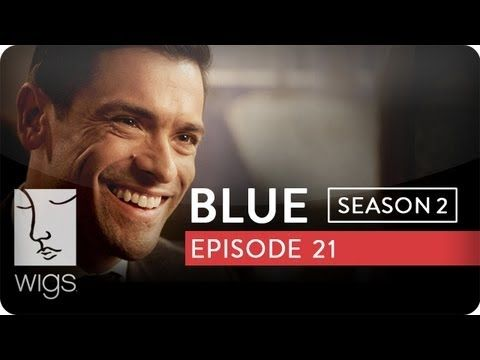 """""""Blue"""": Season 2, Ep. 21 -- """"Savages"""": Blue picks up a client at a bar. #watchwigs www.youtube.com/wigs"""