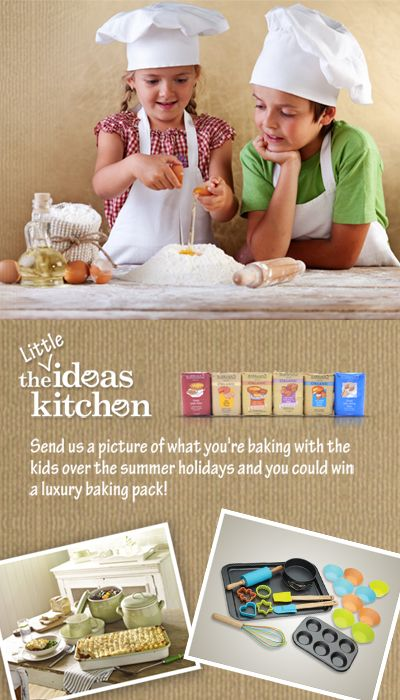 Click the image to take part in the competition! #LittleIdeasKitchen