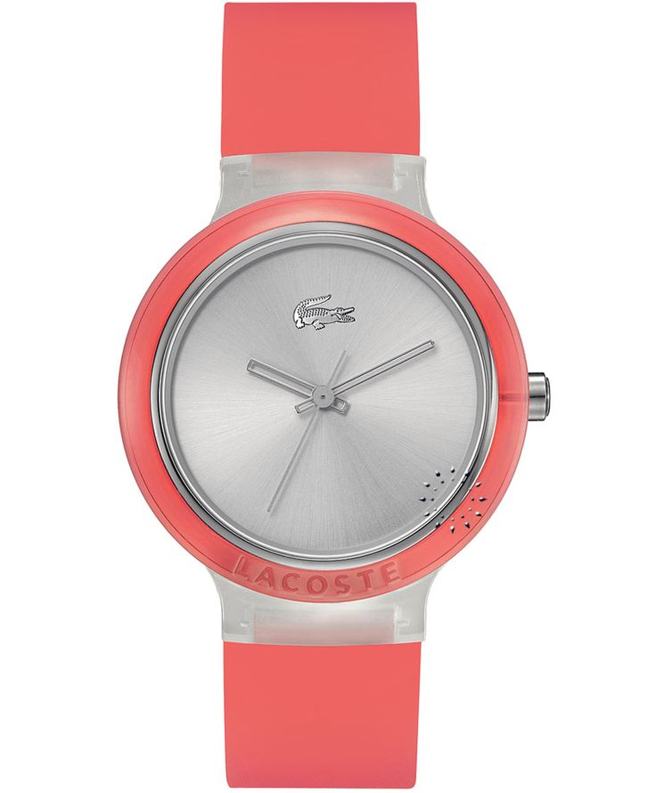 LACOSTE GOA Red Rubber Strap Η τιμή μας: 69€ http://www.oroloi.gr/product_info.php?products_id=35415