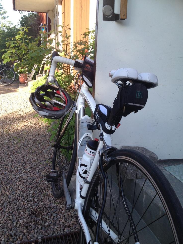 Tjejvättern 2013! 100 km on my bike! Just loving it!!