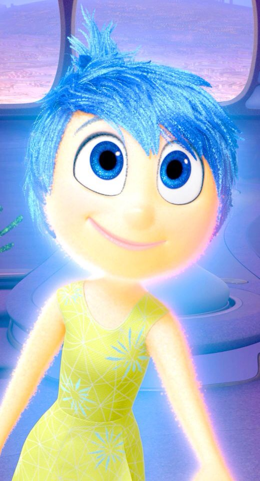 """I got joy from inside out! Says """" I am a great campion for party's road trips and deserted on a island"""" ;)"""