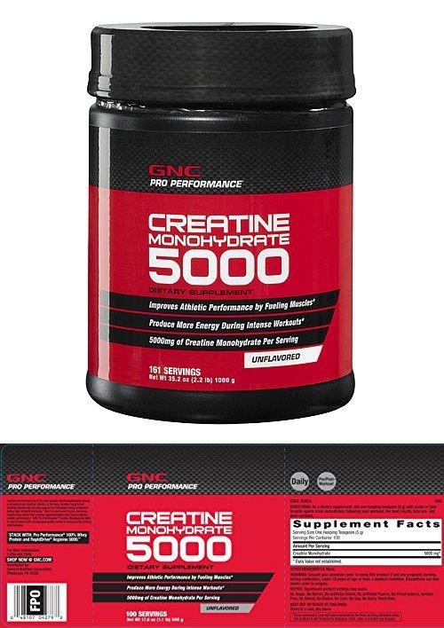 GNC Pro Performance Creatine Monohydrate 1 kilograms