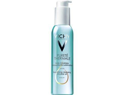 Verschönerndes Reinigungs-Öl Mit Öl-in-Wasser-Mizellen-Technologie  PURETE THERMALE. Entdecken Sie die Produktpalette Gesichtreinigung von Vichy: Gesicht und spezifische Produkte für alle Hauttypen für die tägliche Schönheitspflege.