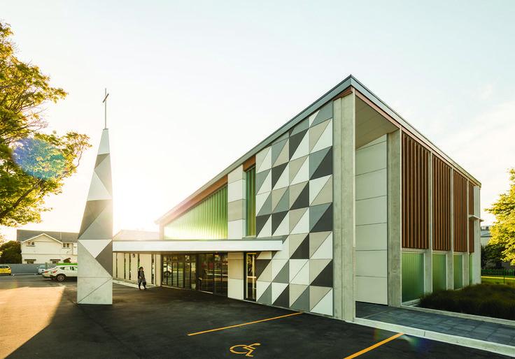 National Finalist 2016 ADNZ | Resene Architectural Design Awards - Designed by Julian O'Sullivan of Opus Architecture #ADNZ #architecture #church