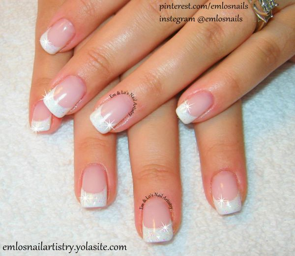 French natural gel nails – Great photo blog about manicure 2017
