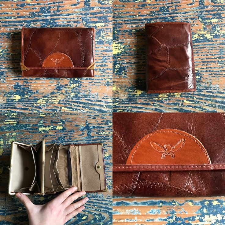 Vintage 1970s leather wallet.