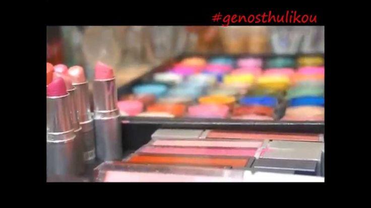 bauty macedonia 2014 aden cosmetics  kreativ make-up school  εφη ακριτιδου