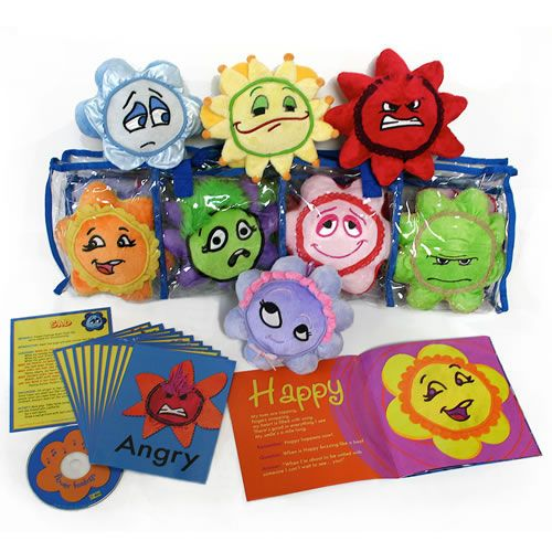Emotional Development Toys For Toddlers : Flower feelings are fun lovable emotional development
