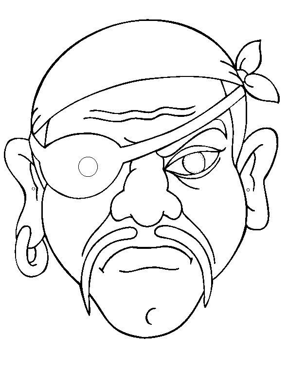 piraat masker