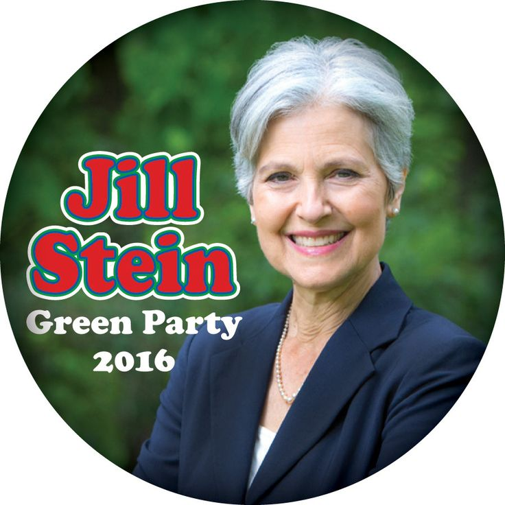 "JILL STEIN, Green Party 3"" CAMPAIGN Pin Back Button Presidential Candidate 2016 by Badgelady117 on Etsy"