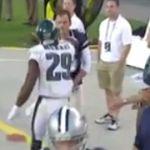 DeMarco Murray, Dan Bailey get into it on sideline (video) - http://blog.clairepeetz.com/demarco-murray-dan-bailey-get-into-it-on-sideline-video/