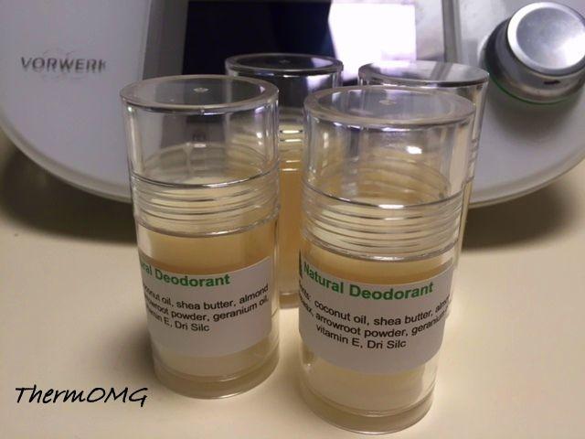 Homemade Deodorant - ThermOMG