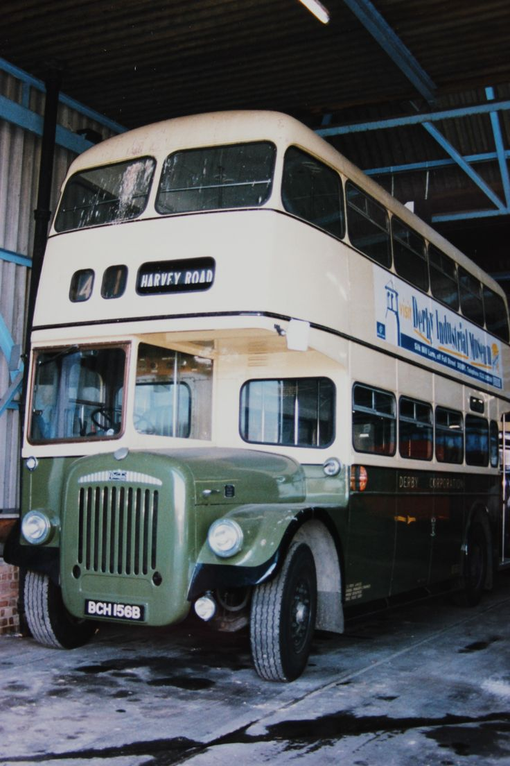 Derby Corporation - 1965 Roe bodied Daimler CVG6