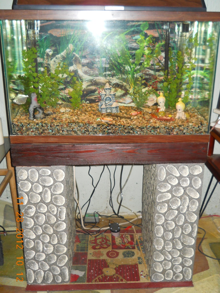 98 best images about aquarium stands on pinterest 55 for Fish tank stand 10 gallon