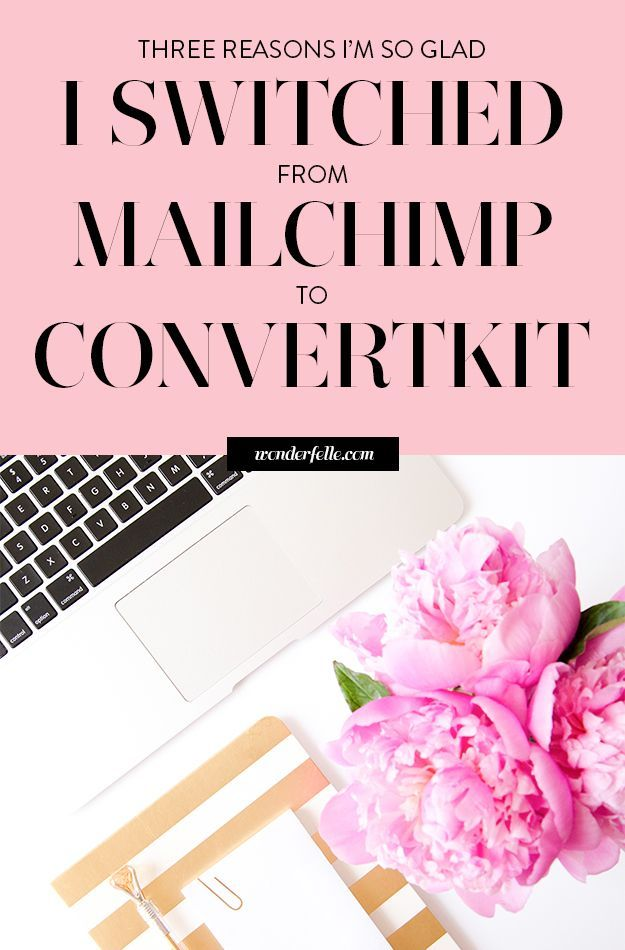 Why I switched from Mailchimp to Convertkit for email marketing. Segmenting and sequences have made such a difference in my email list and ConvertKit makes email marketing so much easier!