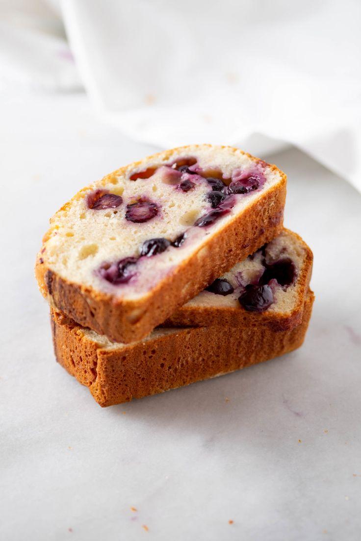 Blueberry Brioche Bread Recipe in 2020 Homemade bread