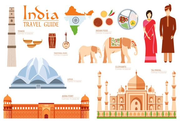 India country flat vector icons set by Sir.Enity on Creative Market