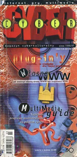 Cyber, zima 1996/97, IDG Poland, 1997, http://www.antykwariat.nepo.pl/cyber-zima-199697-p-1308.html