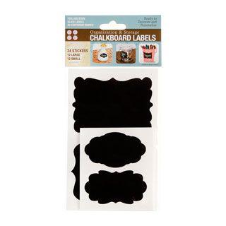 Chalkboard Labels Sticker Set