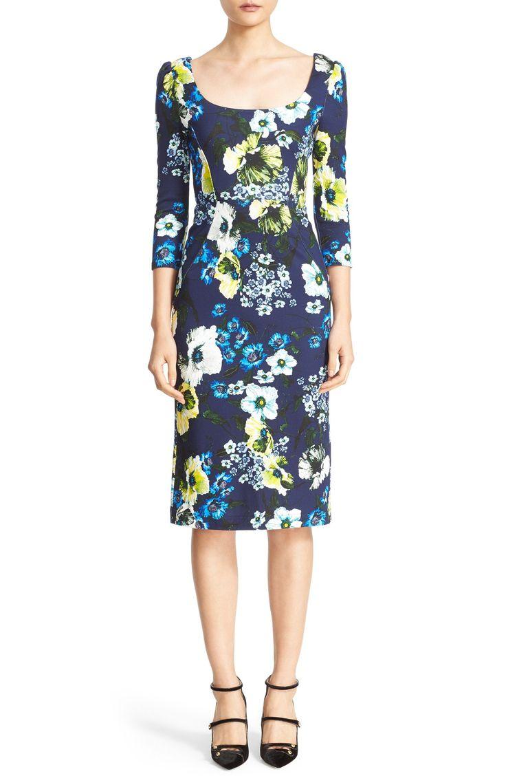 Find Erdem Tess Floral Print Jersey Dress Only at Modalist