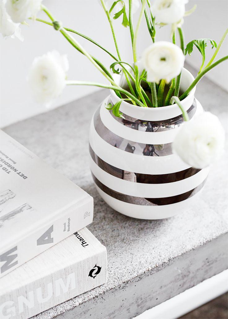 Silver Kahler vase