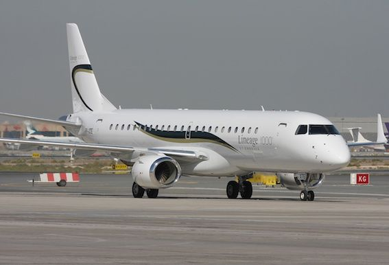 Embraer EMB190BJ Lineage 1000-Source Wikipedia
