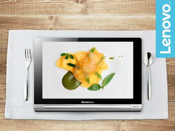 Attenzione! Con lo spettacolare schermo Quad HD di #Lenovo  #YogaTablet2 le immagini sono così reali che potrebbero farvi venire ...un certo appetito!