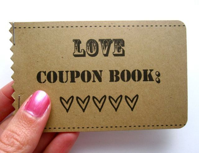 30 best Coupon Book images on Pinterest | Coupon books, Love coupons ...