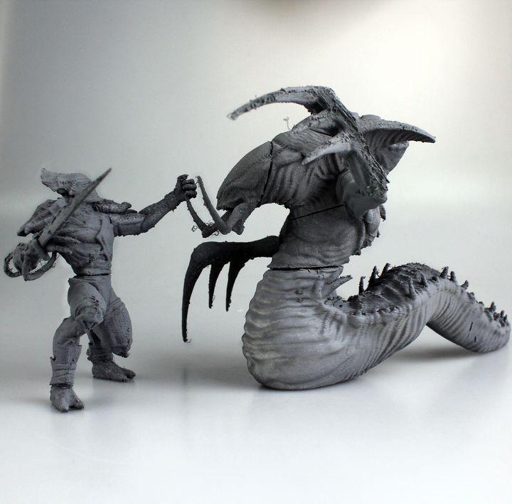 Download Starcraft action scene by Francesco Orrù - MyMiniFactory.com