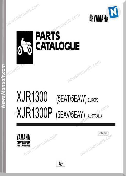 Yamaha Xj1300 Parts Catalogue | Parts Catalogue | Parts catalog