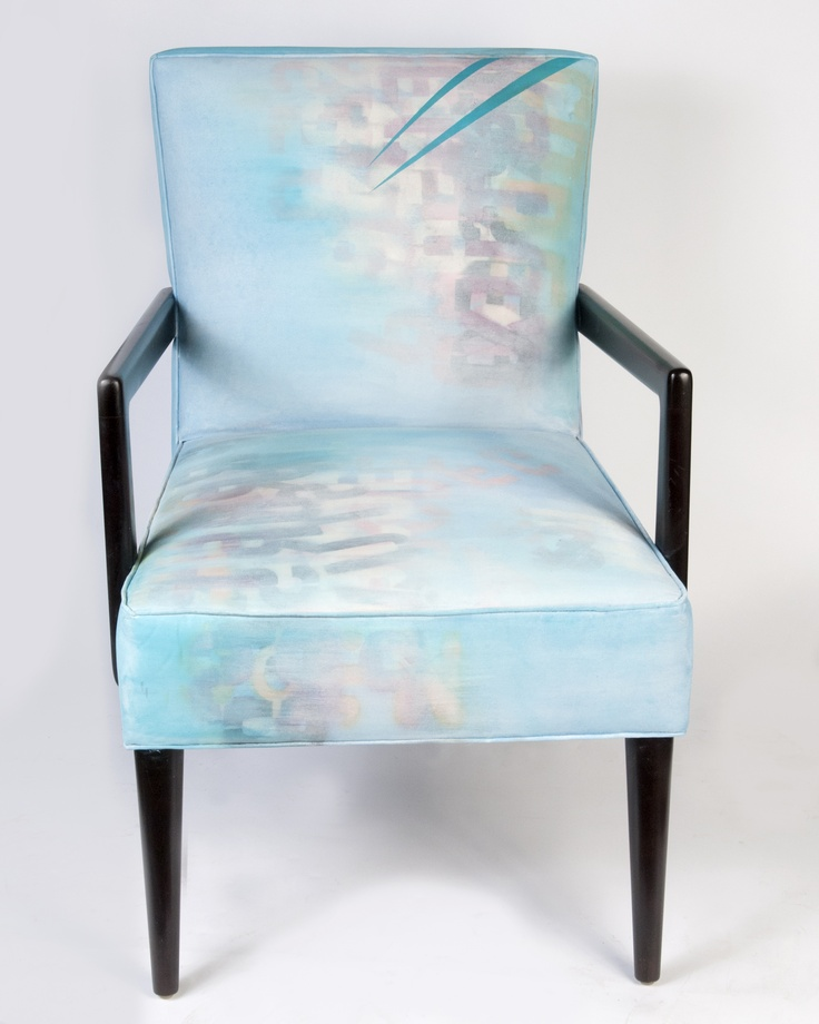 Beautiful hand-painted chair by Pittsburgh artist Stephanie Armbruster as part of the Chairs 4 Charity series to benefit POWER. Bids start at $500.