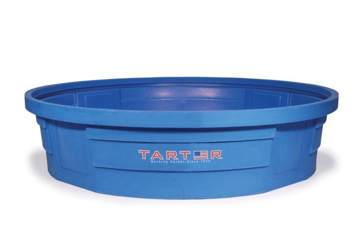 8 round tank tarter farm ranch poly stock tank