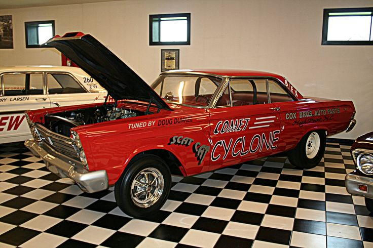 1965 Mercury Comet Cyclone factory racecar Drag racing