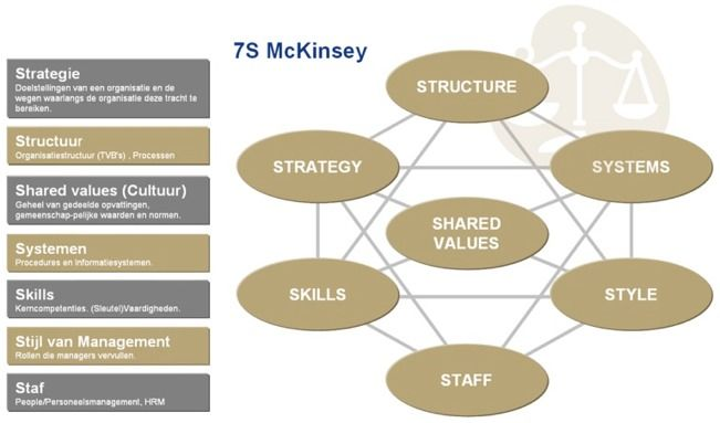 mckinsey model essay The mckinsey 7s framework essay but the ones that are able to give the best results are, in my opinion, mckinsey 7s model and galbraith`s star model.