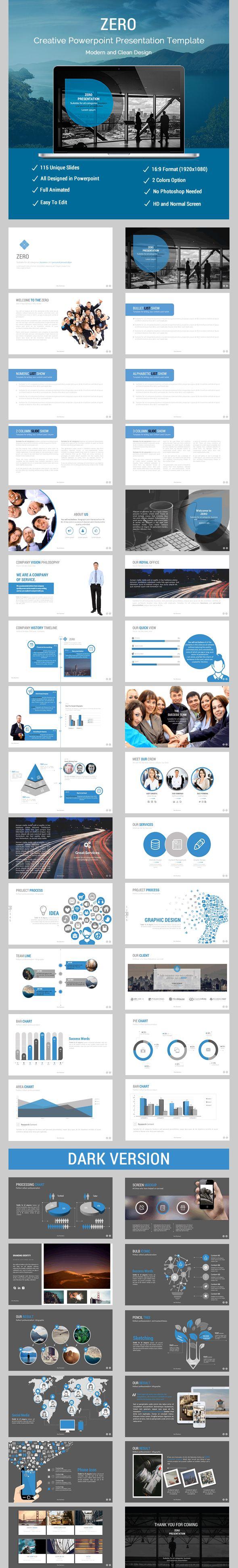 Zero Business Presentation - Business PowerPoint Templates