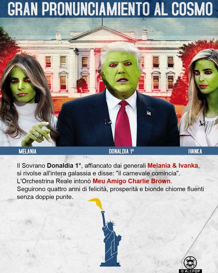 MELANIA, DONALDIA & IVANKA