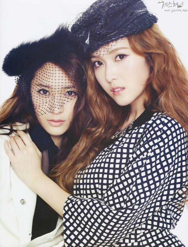 Jung Sisters - Jessica (SNSD) and Krystal (f(x))
