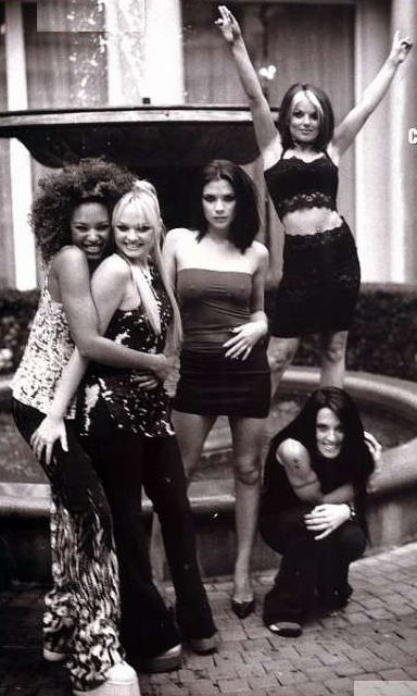 The Spice Girls are perfect. ESPECIALLY sporty spice.