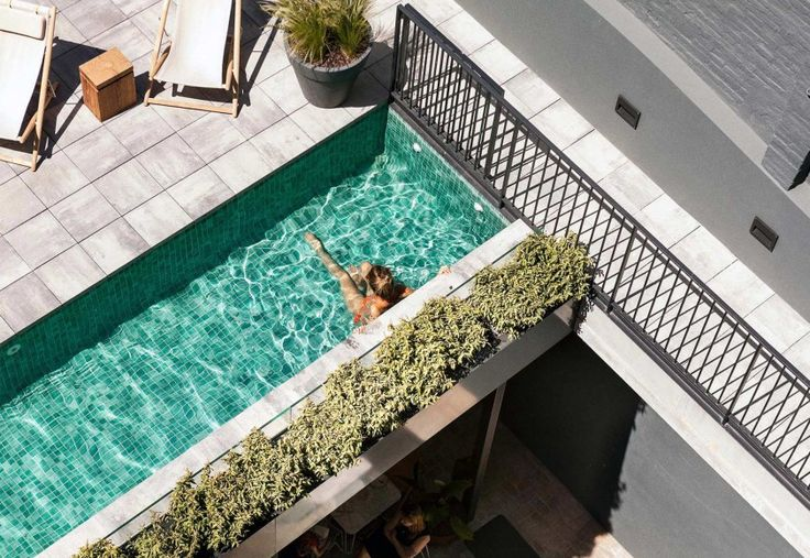 The Hotel - Hotel Brummell #Barcelona #PobleSec #pool