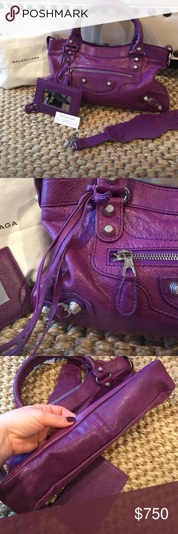 Balenciaga First Arena Giant 12 Perfect condition, beautiful color, comes with dust bag. I am re-poshing. Very similar to a bag I already own. 100% authentic and has already had Poshmark stamp of approval. Bags