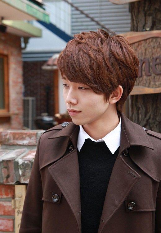 Sexy Korean Boys Hairstyle