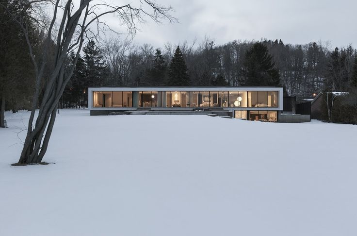 Location: Toronto, Ontario, Canada - The Opposite House, is a commissioned private residence located on the Scarborough Bluffs, closer to the east edge of the Greater Toronto Area.