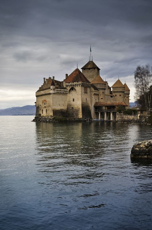 Château de Chillon~ Montreux, Switzerland Copyright: Melissa Anderson