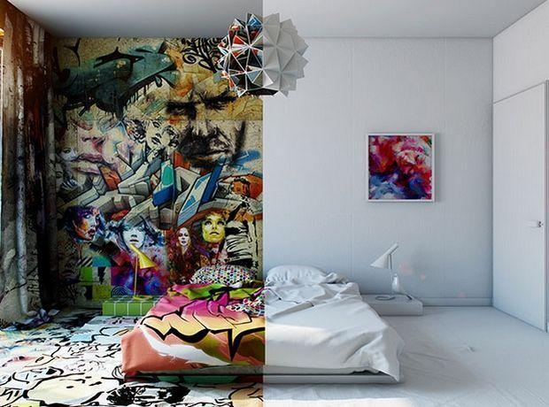 Το γκράφιτι μεταμορφώνει τα δωμάτια - Σπίτι | Ladylike.gr