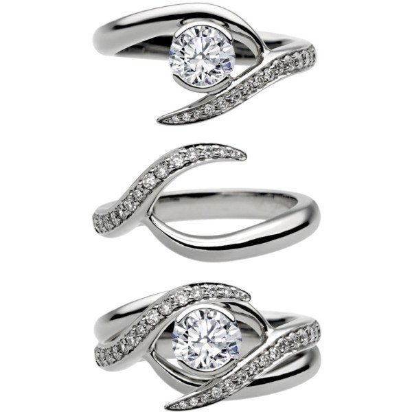 1000+ Ideas About Matching Wedding Rings On Pinterest