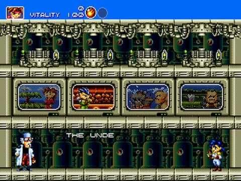 """Gunstar Heroes"" (ガンスターヒーローズ Gansutā Hīrōzu?) is a run and gun video game developed by Treasure and published by Sega. Treasure's debut game was originally released on the Sega Mega Drive/Genesis in late 1993."