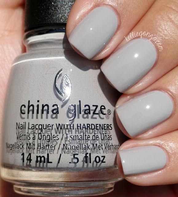 China Glaze Grey Nail Polish: Best 25+ Grey Nail Polish Ideas On Pinterest