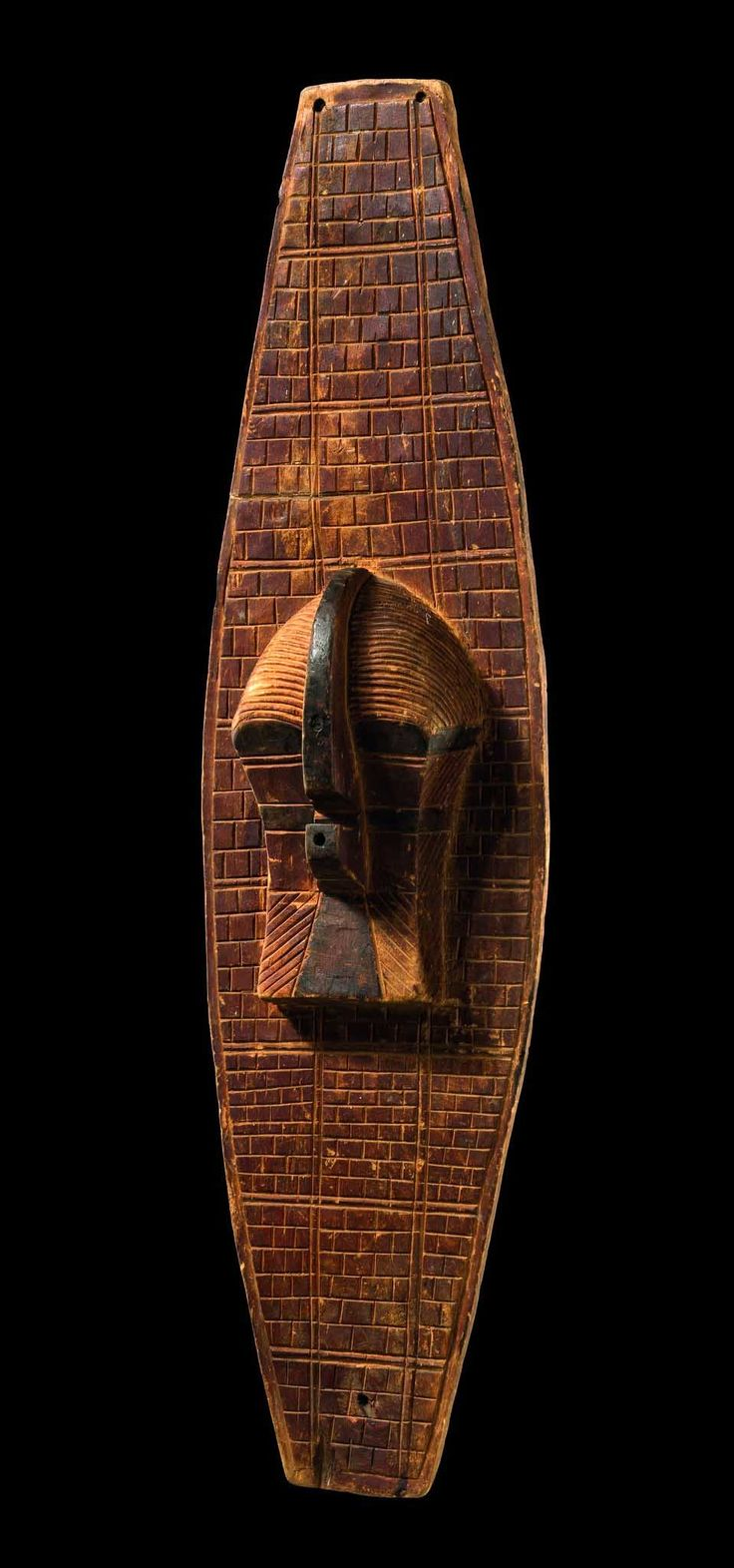 "Africa | Mask board ""kifwebe"" from the Songe people of DR Congo 